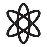 Atomsymbol Stock Illustrationer