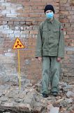 Atomtourist Lizenzfreies Stockbild