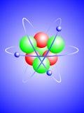 atomu ilustraci lit Obraz Royalty Free
