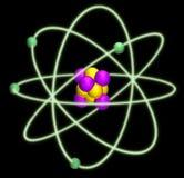 atomu jądro Zdjęcia Royalty Free
