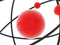 atomu model ilustracja wektor