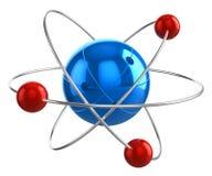 Atomu model Obraz Royalty Free