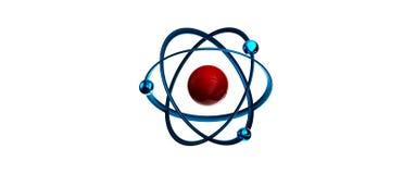 Atomu symbol Obraz Royalty Free