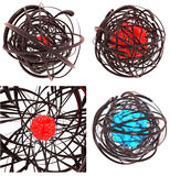 Atomy i molekuła modele ilustracja wektor