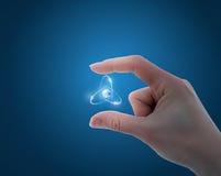 Atomy między palec u nogi Fotografia Stock