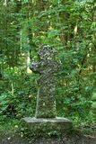 Atonement Cross in the National Park Hainich in Germany Stock Photo