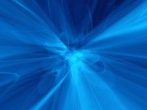Atoom blauwe verwarring Stock Afbeelding