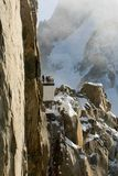 Atop Aiguille du Midi, France Royalty Free Stock Images