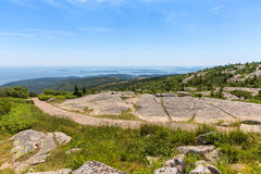 Atop Cadillac Mountain Royalty Free Stock Image