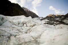 Atop a Glacier Stock Photo
