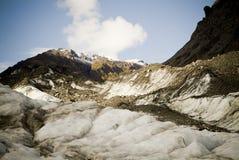 Atop a Glacier Royalty Free Stock Photo