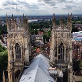 Atop York Minster Stock Images