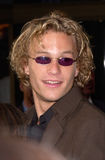 Heath Ledger fotografia de stock