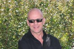 Ator Bruce Willis fotos de stock
