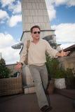 Ator Christian Slater. Imagens de Stock Royalty Free