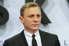 Ator Daniel Craig Fotos de Stock Royalty Free