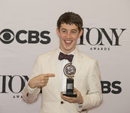 Ator de Alex Sharp Wins Best Leading em 69th Tony Awards em 2015 Fotos de Stock