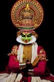 Ator de Kathakali Fotografia de Stock Royalty Free