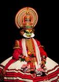 Ator de Kathakali em India Fotos de Stock