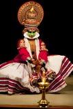 Ator de Kathakali em India Imagens de Stock
