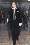 Ator Ed Westwick que chega em Lincoln Center, New York Imagem de Stock