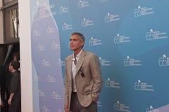 Ator George Clooney Fotografia de Stock