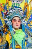 Ator não identificado da ópera chinesa Fotos de Stock