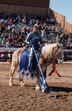 Ator no festival do renascimento do Arizona Fotografia de Stock Royalty Free