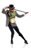 Ator que executa a dança Fotos de Stock