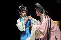 Ator tradicional chinês da ópera Fotografia de Stock Royalty Free