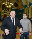 Atores Alexey e Igor Ogurtsova do russo foto de stock royalty free