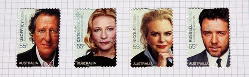 Atores Austrália fotografia de stock
