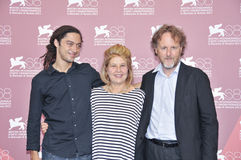 Atores Jonas Carpignano, Fiorella, Infascelli e Francesco Bruni fotos de stock royalty free