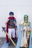 Atores/participantes do Anime imagens de stock royalty free