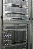 Atormente los servidores montados de la lámina Imagen de archivo