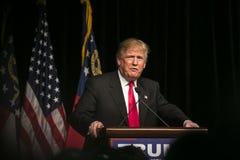 Atout de Donald J de candidat républicain à la présidentielle Image stock