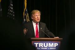 Atout de Donald J de candidat républicain à la présidentielle Photos stock