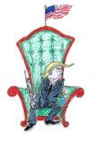 Atout sur le trône Image stock