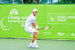ATP挑战者张- SAT曼谷打开2013年 免版税图库摄影