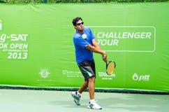 ATP挑战者张- SAT曼谷打开2013年 免版税库存照片