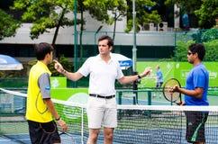 ATP挑战者张- SAT曼谷打开2013年 图库摄影