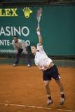 atp Carlo ćwiczy monte tenisa Zdjęcia Royalty Free