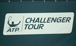 ATP Challenger tour Royalty Free Stock Image