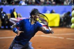 ATP 2014 de Rafael Nadal Barcelona Open 500 Foto de archivo