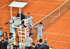 ATP Mutua Open Madrid Stock Images