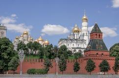 Atrás da parede do Kremlin Imagem de Stock