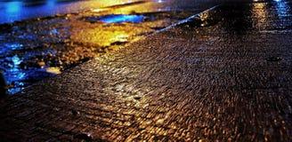 Atrás da rua Fotografia de Stock Royalty Free
