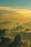 Atrás das nuvens Fotos de Stock