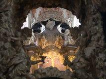 Atrás do altar da catedral do Trier Foto de Stock Royalty Free