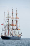 Atrás do sailboat Imagem de Stock